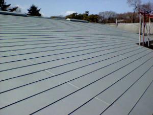 横葺き屋根