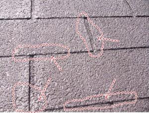 アスファルトシングル 塗装 雨漏り 施工不良