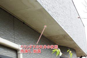 軒天井 雨漏り 結露 原因
